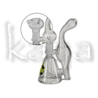 Bong Black Leaf Recycle Oil 16cm