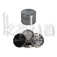 Grinder Black Leaf 4 Parties Gris