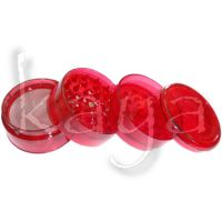 Grinder Plastique 4 Parties Rouge 55mm