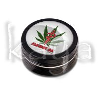 "Grinder Black Leaf ""Médical"" 2 Parties"
