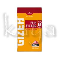 Gizeh Slim Filter 8mm Box 120pces