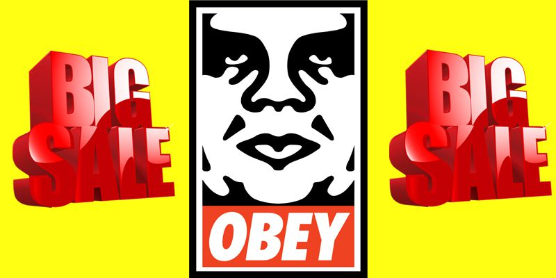 Liquidation T Shirt Obey
